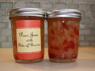 Pear and Strawberry Bits Jam