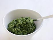 Kale and Pumpkin (Pepita) Seed Pesto found on PunkDomestics.com