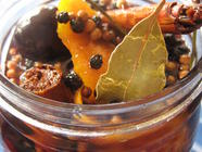 Pickled Cherries and Sweet & Sour Manhattans