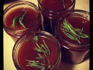 Plum Sauce with Tarragon & Bourbon