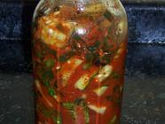 Cucumber Kimchi found on PunkDomestics.com