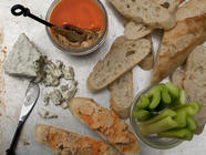 Buffalo Chicken Rillettes found on PunkDomestics.com