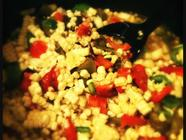 Curry Ketchup & Roasted Corn Relish found on PunkDomestics.com