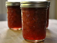 Rhubarb Orange Ginger Jam found on PunkDomestics.com