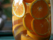 Homemade Orange Liqueur found on PunkDomestics.com