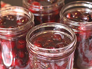 Amaretto Soaked Cherries found on PunkDomestics.com