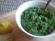 A Winter Pesto found on PunkDomestics.com