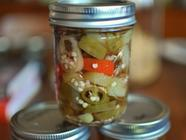 Pickled Hot Pepper Rings