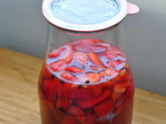 Strawberry-Balsamic Shrub found on PunkDomestics.com