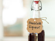 Homemade DIY Chocolate Liqueur found on PunkDomestics.com