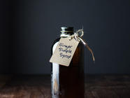 Ginger Simple Syrup found on PunkDomestics.com