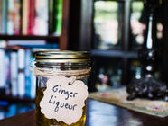 Vodka Based Ginger Liqueur found on PunkDomestics.com