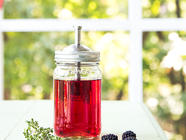 Blackberry Thyme Infused Vodka  found on PunkDomestics.com