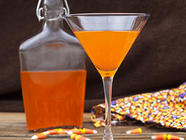 Candy Corn Cocktails found on PunkDomestics.com