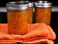 Spicy Carrot Ginger Chutney found on PunkDomestics.com