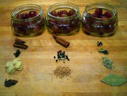 Pickled Grapes Three Ways