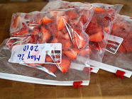 Freezing Strawberries found on PunkDomestics.com