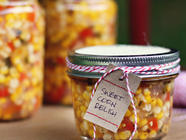 Zesty Sweet Corn Refrigerator Relish found on PunkDomestics.com