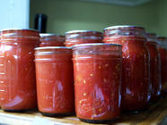 Canning Tomatoes 101: Whole, Crushed, Sauced found on PunkDomestics.com