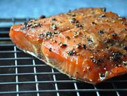 Maple & Black Pepper Smoked Salmon found on PunkDomestics.com