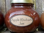 Apple Rhubarb Jam found on PunkDomestics.com