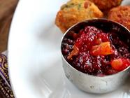 Cranberry and Apricot Chutney found on PunkDomestics.com