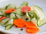 Asian Cucumber and Carrot Pickles found on PunkDomestics.com