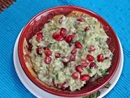 Baba Ganoush with Pomegranates found on PunkDomestics.com