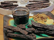 Teriyaki Beef Jerky  found on PunkDomestics.com