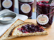 Homemade Marionberry Jam found on PunkDomestics.com