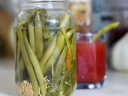 Quick Pickled Green Beans found on PunkDomestics.com