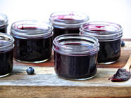Spiked & Juicy Blueberry Butter found on PunkDomestics.com