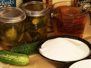 How to Make Bread and Butter Pickles found on PunkDomestics.com
