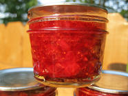 Strawberry Anise Hyssop Jam