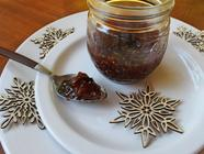 Champagne Fig Jam with Candied Ginger & Lemon found on PunkDomestics.com