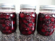 Preserved Cherries with Brandy