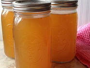 Canning Chicken Stock in the Pressure Canner found on PunkDomestics.com