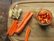 Carrot Ginger Lactopickles found on PunkDomestics.com