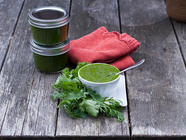 Cilantro and Parsley Sauce found on PunkDomestics.com