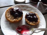 Mixed Berry Jam Thickened with Apples found on PunkDomestics.com