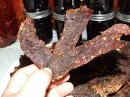 Homemade Beef Jerky found on PunkDomestics.com