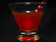 Whiskey Drink Recipes: The Spicy Cranberry found on PunkDomestics.com