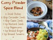 Homemade Curry Powder Spice Mix found on PunkDomestics.com