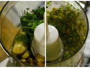 Pistachio Pesto for Pasta found on PunkDomestics.com