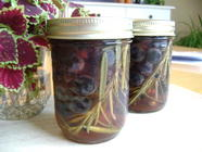 Pickled Autumn Grapes