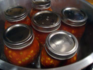 Pressure Canning Vegetable Beef Soup