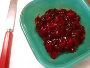 Pear and Cranberry Conserve