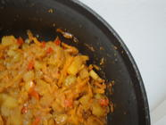 Carrot Chutney with Caramelized Shallots
