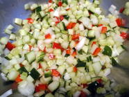 Spicy Garlic Dill Cucumber Relish