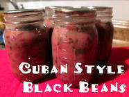 Cuban Style Black Beans found on PunkDomestics.com